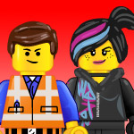 Free LEGO movie graphics and printables