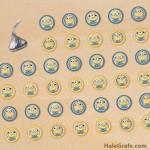 FREE Printable Minion Hershey's Kisses Stickers