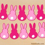 FREE Easter Bunny Banner SVG Pack