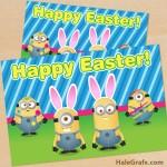 FREE Printable Despicable Me Easter Minion Card