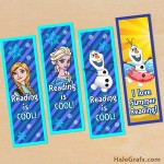 FREE Printable Frozen Bookmarks