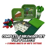 Minecraft party supplies and accessories