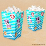 FREE Printable LEGO Movie Unikitty Popcorn Box
