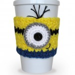 Crocheted Minion Inspired Coffee Cup Cozy Giveaway