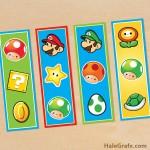 FREE Printable Super Mario Bros. Bookmarks