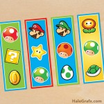 FREE Printable Super Mario Bros. Bookmarks