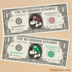 FREE Printable Super Mario Bros. Play Money