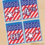 FREE Printable 4th of July Banner Set