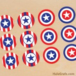 FREE Printable 4th of July Cupcake Toppers
