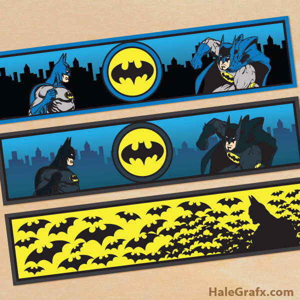free printable batman water bottle labels - Free Printable Batman Pictures