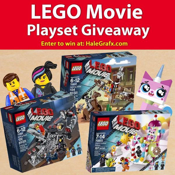 The LEGO Movie Play set Giveaway
