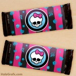 FREE Printable Monster High Candy Bar Wrappers