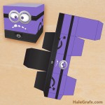 FREE Printable Despicable Me Evil Minion Treat Box
