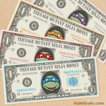 FREE Printable TMNT Ninja turtles Play Money