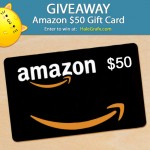It's Another Amazon $50 Gift Card Giveaway!