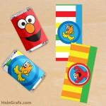 FREE Printable Elmo Mini Candy Bar Wrappers