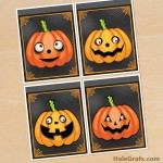 FREE Printable Halloween Jack O'lantern Pumpkin Banner