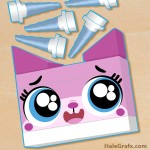 FREE Printable LEGO Movie Pin the Horn on Unikitty