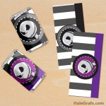 FREE Printable Nightmare Before Christmas Mini Candy Bar Wrappers