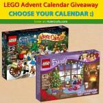 LEGO Christmas Advent Calendar Giveaway 2014
