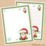 FREE Printable Christmas Minion themed Stationery