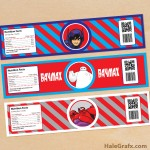 FREE Printable Big Hero 6 Water Bottle Labels