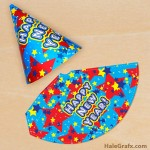 FREE Printable Happy New Year Party Hat