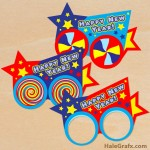 FREE Printable Happy New Year Photo Props