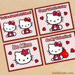 FREE Printable Hello Kitty Valentines