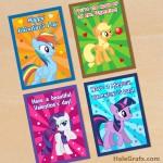 FREE Printable My Little Pony Valentines