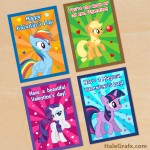 FREE Printable My Little Pony Valentines