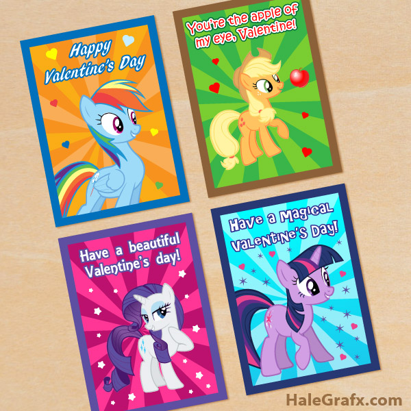 FREE Printable My Little Pony Birthday Invitation Set – Free Printable My Little Pony Birthday Invitations