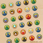 FREE Printable LEGO Ninjago Hershey's Kisses Stickers