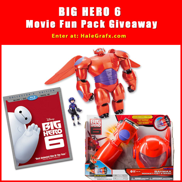 The Big Hero 6 Movie Fun Pack Giveaway