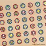 FREE Printable Mario Kart Hershey's Kisses Stickers