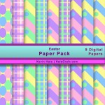 FREE Easter Digital Paper Pack