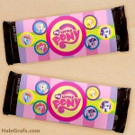 FREE Printable My Little Pony Candy Bar Wrappers