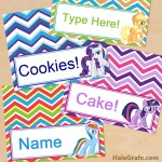 FREE Printable My Little Pony Place Cards