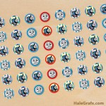 FREE Printable Thomas the Tank Engine Hershey's Kisses Stickers