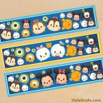 FREE Printable Tsum Tsum Water Bottle Labels