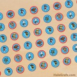 FREE Printable Paw Patrol Hershey's Kisses Stickers
