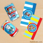 FREE Printable Paw Patrol Mini Candy Bar Wrappers