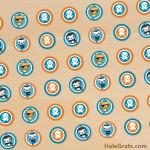 FREE Printable Octonauts Hershey's Kisses Stickers