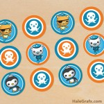 FREE Printable Octonauts Cupcake Toppers