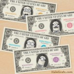 FREE Printable Minion Large Bill Play Money Pack
