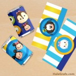 FREE Printable Tsum Tsum Mini Candy Bar Wrappers