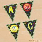 FREE Printable Inside Out Alphabet Banner Pack
