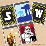 FREE Printable Star Wars Alphabet Banner Pack