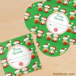 FREE Printable Christmas Minion Gift Card Holder