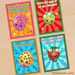 FREE Printable Shopkins Valentines